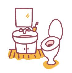 トイレ洗面所掃除