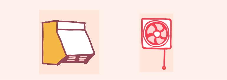 レンジフード換気扇ハウスクリーニング・レンジフード掃除・換気扇掃除のご案内 鈴鹿きれい館